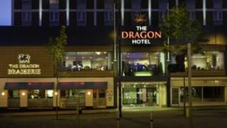 The Dragon Hotel in Swansea
