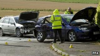 Tibbermmore crash