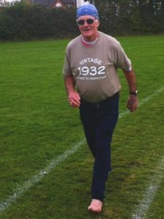 Runner Tom Scriven
