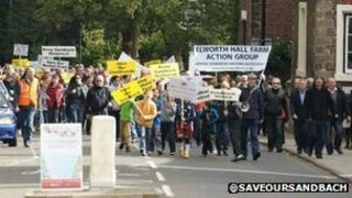 Save our Sandbach protest