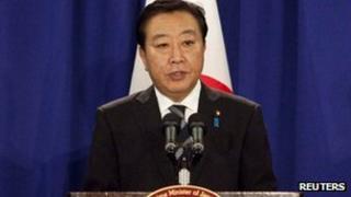 PM Yoshihiko Noda, speaking in New York on 26 September 2012