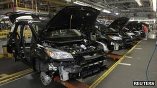 Ford Escape production in Louisville