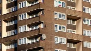 Social housing in south-east London
