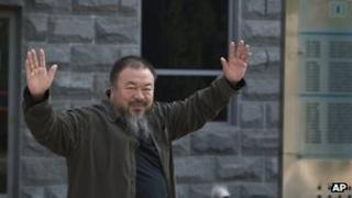 Ai Weiwei, 27 September 2012