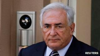 Former IMF chief Dominique Strauss-Kahn (file photo)