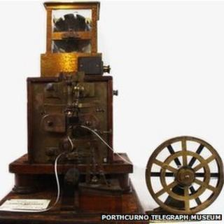 Siphon recorder (Pic: Porthcurno Telegraph Museum)