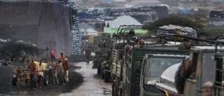 Kenyan forces in Kismayo