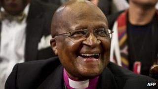 Archbishop Desmond Tutu, file photo from September 2012