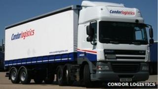 Condor Logistics vehicle