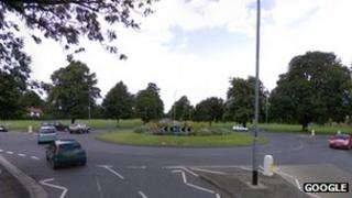 White Tree roundabout