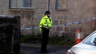 Police at Grampian Lane