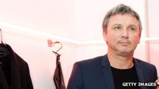 Thierry Gillier, founder of Zadig & Voltaire, at the label's autum/winter 2012 fashion show in Paris, 29 February 2012