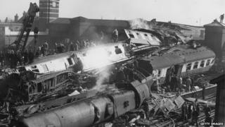 Harrow and Wealdstone train crash of 1952