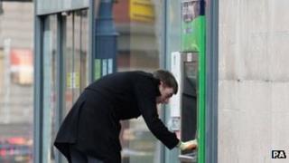 Lloyds TSB cash point