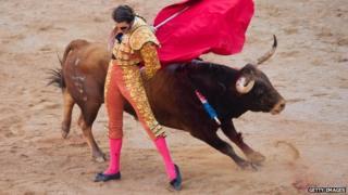Juan Jose Padilla in action