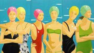 Eleuthera (1984) by Alex Katz