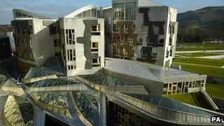 Scottish Parliament at Holyrood