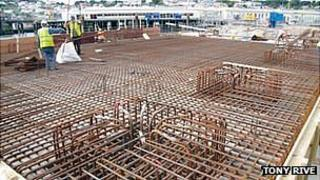 Guernsey's St Peter Port freight berth work