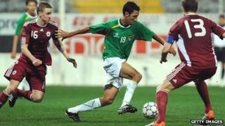 Latvia play Bolivia in February 2011 in Turkey