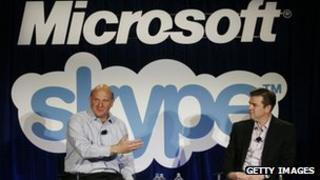 Microsoft-Skype press conference