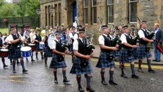 Central Scotland Police Pipe and Drums