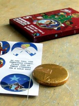 Meaningful Chocolate Company Christmas Story box