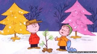 Scene from A Charlie Brown Christmas