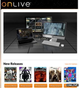 OnLive screenshot