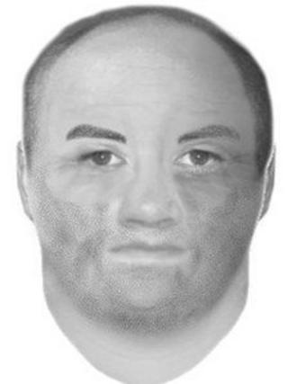 A police e-fit of the first offender
