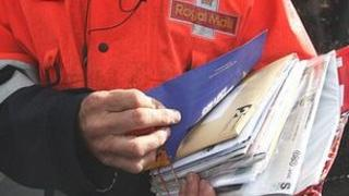 Royal Mail postal worker - generic image