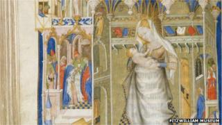Painting from The Hours of Isabella Stuart