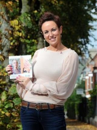 Suzanne McTurk poses with new guide