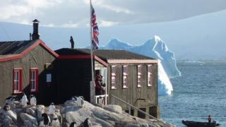 Antarctic base camp