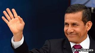 Peruvian President Humala