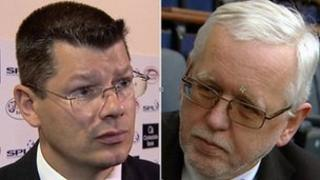 Neil Doncaster and Ralph Topping