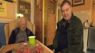 Roger Paling and his dad Howard