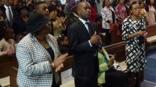 Services at the New Testament Church of God in Ladywood, Birmingham
