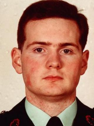 Constable Michael Ferguson was shot dead in 1993