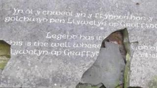 Cofeb Llywelyn ei Llyw Olaf