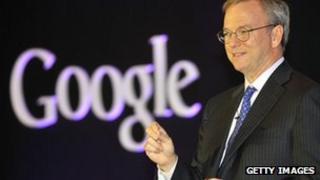 Eric Schmidt, Google chief executive