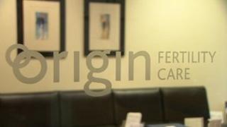 Origin Fertility Care sign