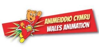Logo Animeiddio Cymru