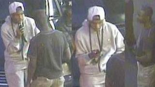 CCTV of two men police want to trace