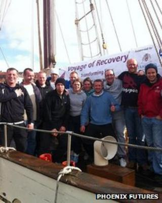 Voyage of Recovery crew