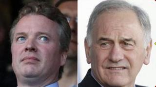 Craig Whyte and Charles Green