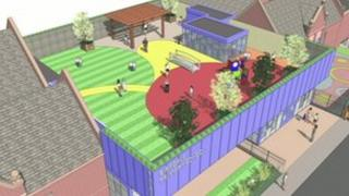 Proposed playground in Sefton