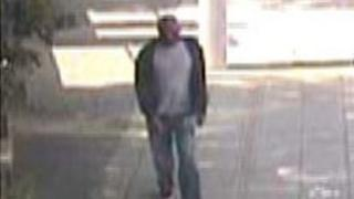 CCTV footage of man police want to speak to
