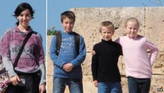 An appeal was launched over Jessica, Tomas, David and Eva Palacin Jones on Tuesday