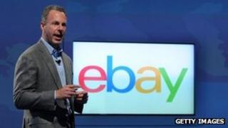 eBay President Devin Wenig introduces the new eBay logo