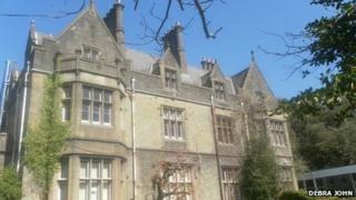 Hendrefoilan House near Swansea